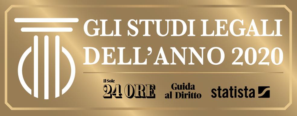 Logo Studi Legali Dell'Anno 2020